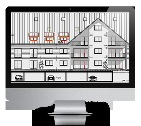 acado architektur cad. Black Bedroom Furniture Sets. Home Design Ideas